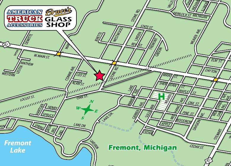 American Truck Accessories Bruce S Glass Shop Fremont